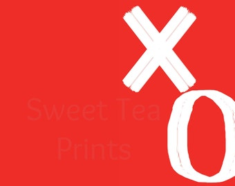 XO Valentine's Day Card / Sweetheart Card / I Love You Card