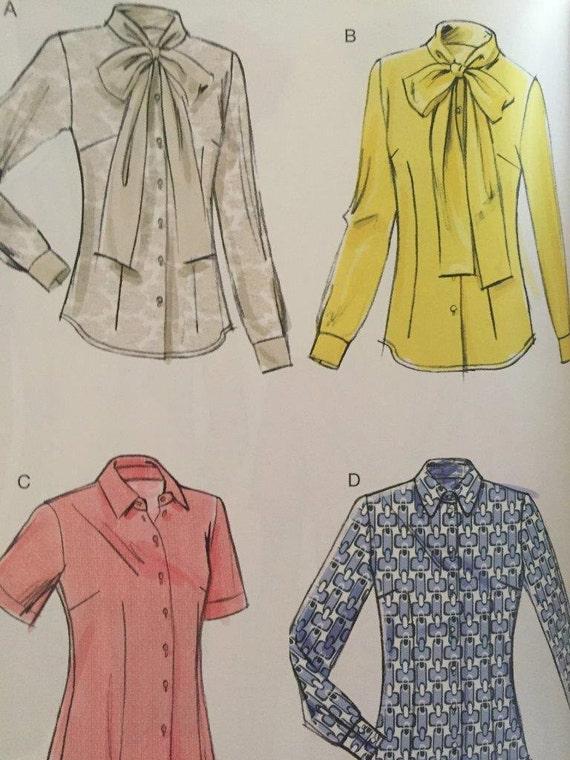 Ladies Blouse Sewing Pattern 9