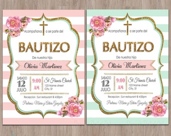 1St Birthday Invitation Girl with awesome invitation template
