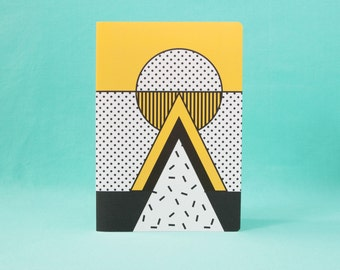 Note book - I love Memphis, yellow - A5