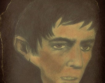 1796 Portrait of Barnabas Collins from Dark Shadows- print