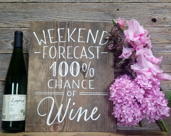 Wine Humor Sign, Weekend Humor Sign, Wooden Signs, Signs about Wine, Funny Signs, Home Decor, Bar Decor, Kitchen Sign, Bar Signs, Alcohol