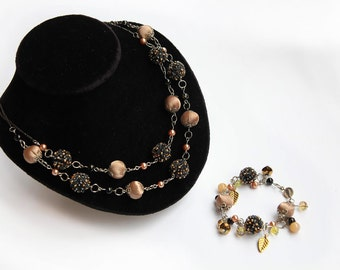 Black Jewelry Necklaces, Bib Black Necklace Jewelry Necklaces