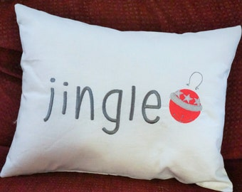Jingle Bell pillow