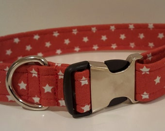 Orange Star Dog Collar