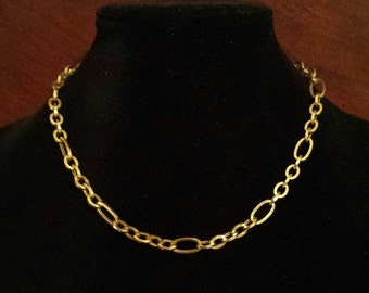 14K Yellow Gold Italian Necklace
