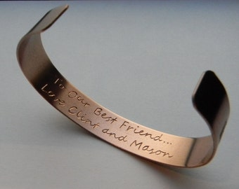 Custom Hand-Engraved Bracelets-Made to Order