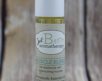 Just B Aromatherapy Muscle Blend Roll-On