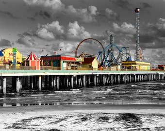 Galveston, TX Pleasure pier