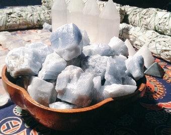 Blue Calcite Stones