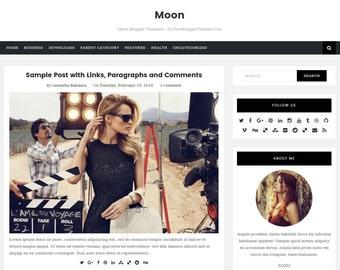 Moon Blogger Template