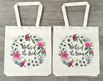 Mother Of The Bride and Mother Of The Groom Tote Bag (Set of 2)