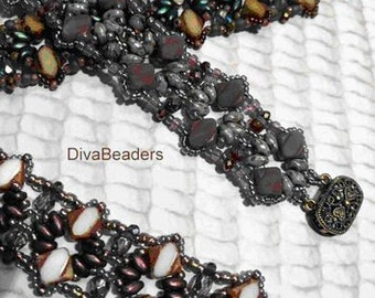 Silky Elegance Bracelet Tutorial Pattern