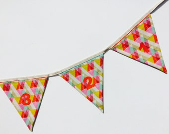 Sewing Kit - Advent Flag Bunting