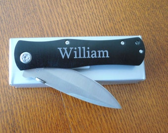 Knife ~ Pocket -Personalization Included