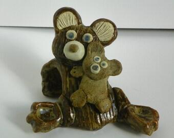 Pottery Bear and Cub