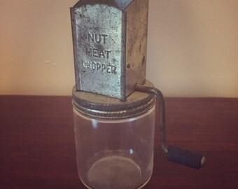 1930's Nut Meat Chopper