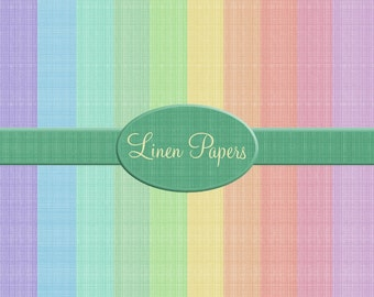 Digital Linen Papers, great for digital, crafting, scrapbooking, photography, 300dpi jpeg  files, Pastel colours