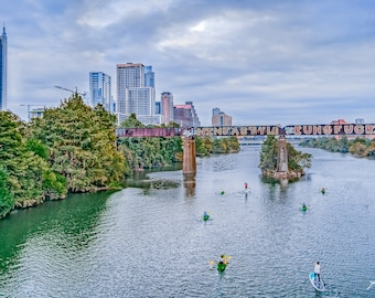 Austin Skyline Photography Print