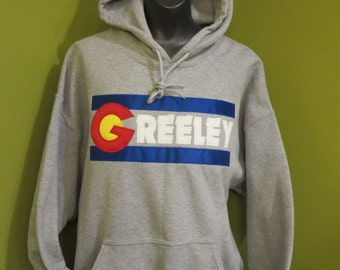 Greeley Sweatshirt: Colorado Flag Hoodie