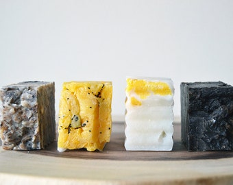 Handmade Soap Samples - All Natural, Scented Soap, Hot Process Soap, Vegan Soap, Handmade Soap, Cruelty-Free Soap