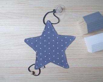 Doudou - Chupetero | Étoiles & bleu nuit