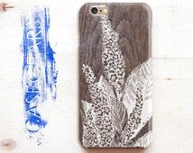 iPhone 5s Case Wood Floral iPhone 5c Case Wood Flower iPhone 6 Case iPhone 4 Case Unique Design Case Phone 4s Case iPhone 6s Case Back Cover