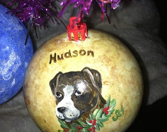 Customized hand painted Christmas balls