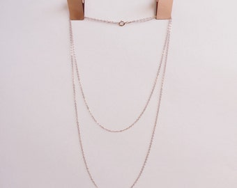 Kennedy Layer Necklace- Gold or Rose Gold