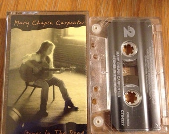 "Mary Chapin Carpenter ""Stones In The Road"" Vintage Cassette Tape in good shape"