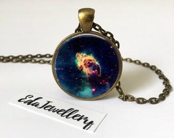 Carina Nebula Pendant, Space, Universe, Galaxy Jewellery