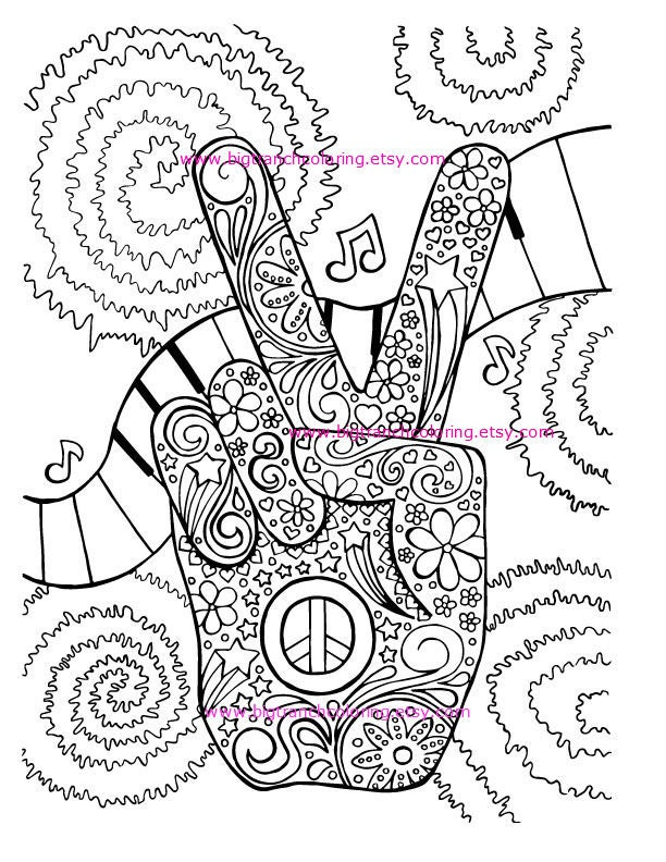 coloring pages retro - photo#15