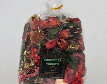 Christmas Wreath Fragranced Potpourri