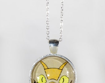 My Neighbour Totor Cat Bus pendant necklace or keyrings