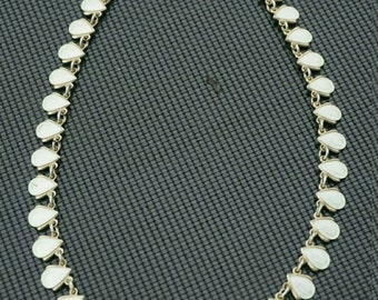 Volmer Bahner Vintage Danish Jewelry Sterling Silver and Enamel Necklace