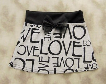 Baby Girl Love Skirt