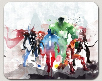 Avengers Mouse Pad Mousepad Mouse Mat Custom Mouse Pad Office Decor Computer Accessory Office Supplies Office Mouse Pad Captain America