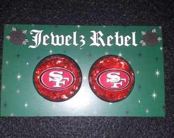 San Francisco 49ers Earrings