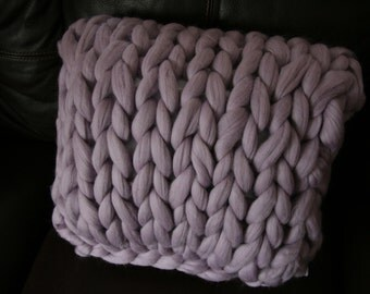 Chunky Knit Pillow  16x16 - Pillow Insert INCLUDED!