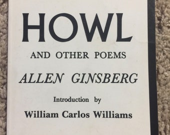 HOWL by Allen Ginsberg 50th print PAPERBACK SIGNED 1993 CIty Lights Books
