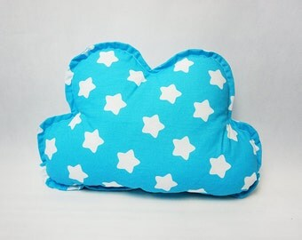 Cloud Pillow / Blue Cloud Pillow / Sofa Pillow / Kids Room Decor / Nursery Decor / Kids Pillow / Decorative Pillow / Soft Toy / Gift For Kid