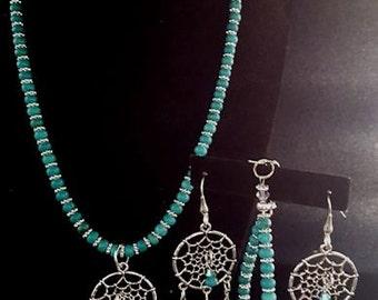 Magnesite Turquoise Set