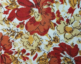 Dear Stella Honycrisp Vintage Floral Cream, 44-inch Wide **Half Yard Cuts**