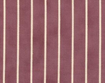 Moda - Field Notes by Blackbird Designs 2718-15 Stripe Rose Hips  **HALF YARD CUTS**