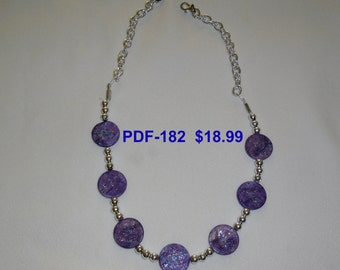 Necklace PDF-182   Copyrighted item