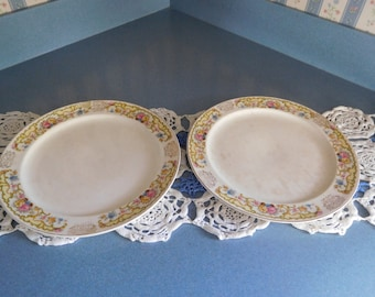 Set of Two Vintage Paden Plates