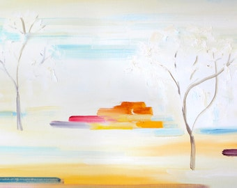 Tranquility- Original Art Oil on Canvas Painting