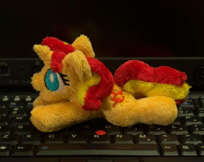 """My Little Pony Sunset Shimmer Plush toy tiny 5"""" minky"""