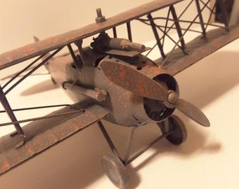 Toy plane, metal