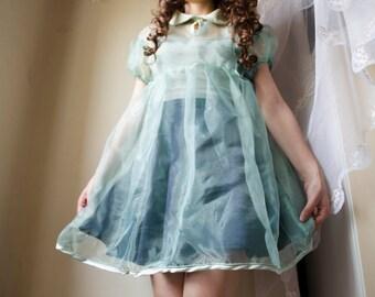 Baby Ghost Acquamarine dress